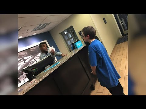Tony Sandoval on The Breeze - Hotel clerk's simple interaction with  Autistic Boy turned him into a HERO.
