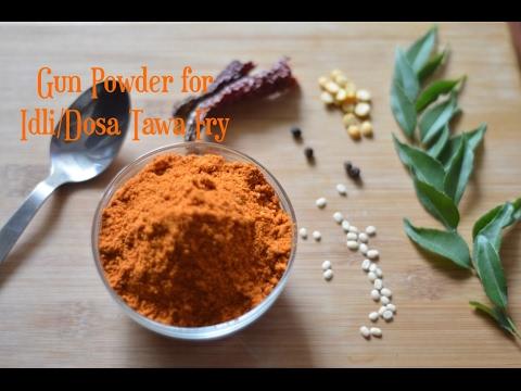 Gun Powder For Idli/Dosa Tawa Fry|Idli Milange Podi