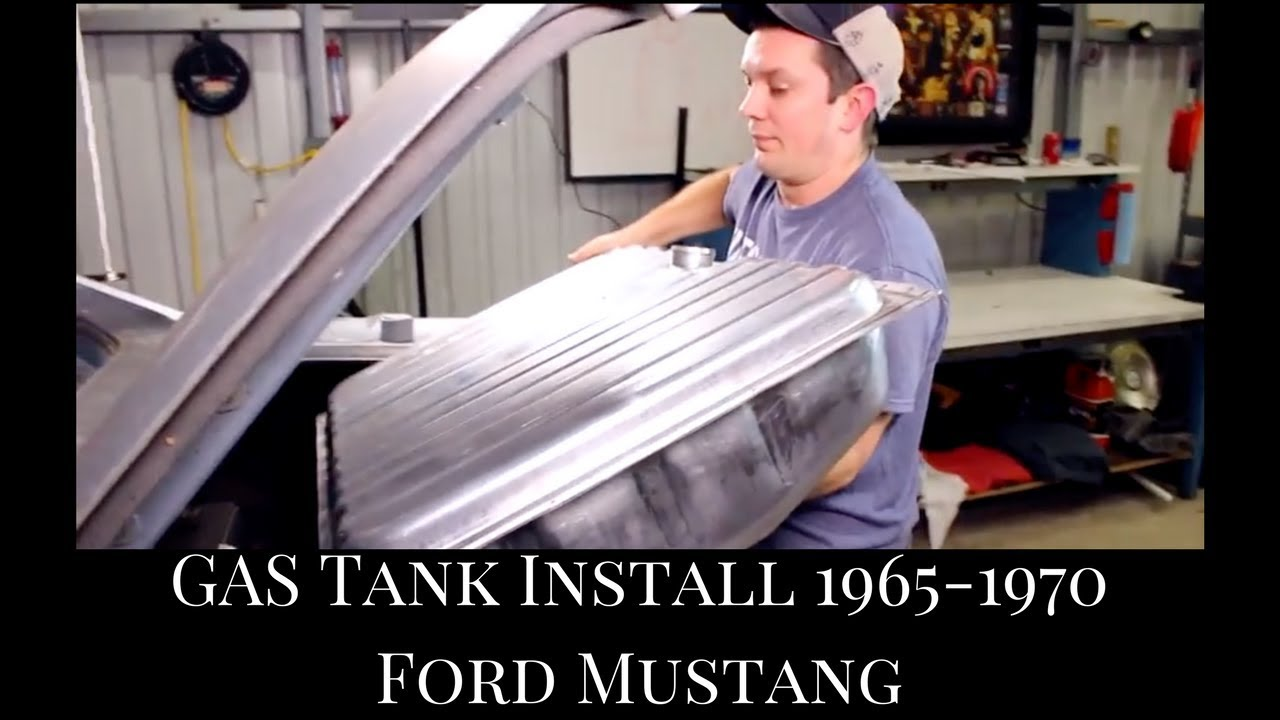 medium resolution of 1965 1970 mustang coupe fuel tank install fuel filter replacement fuel sending unit install