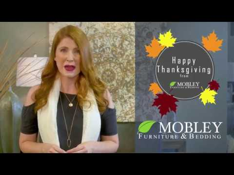 Mobley Furniture Outlet: Thanksgiving 2017