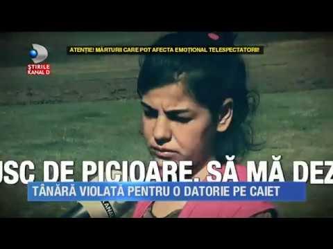 Stirile Kanal D (23.02.2017) - Tanara, violata pentru o datorie pe caiet