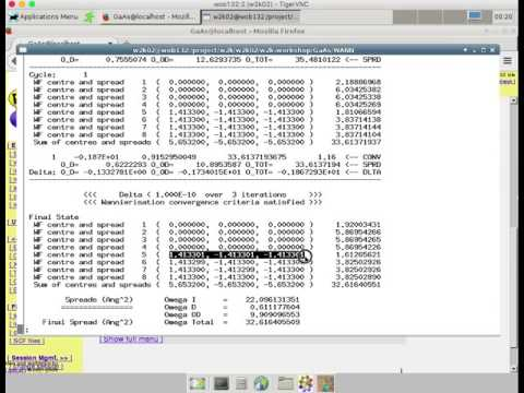 Wannier functions in GaAs (with subtitles)