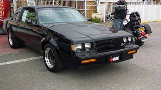 1987 BUICK GNX ... R.I.P., SED!!!!                       9-30-2014