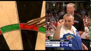2010 World Matchplay Final Van Barneveld vs Taylor