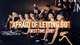 Now United - Afraid Of Letting Go (First Time Live)