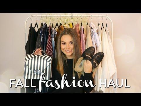 FALL CLOTHING HAUL 2017 - ZARA, FOREVER21, NORDSTROM