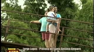 Prefeito fala sobre obra em Santo Antônio do Amparo