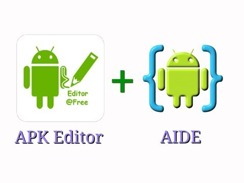 AIDE + APK EDITOR PRO (change APP NAME,ICON,BACKGROUND and ADD BUTTON) || APP EDITING