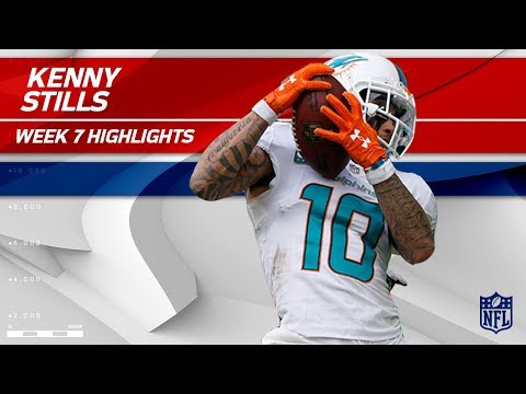 Kenny Stills Scores 2 TDs Against New York! | Jets vs. Dolphins | Wk 7 Player Highlights