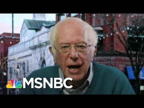 Sen. Bernie Sanders: People Are Suffering 'In A Way We Have Not Seen Since The Great Depression'