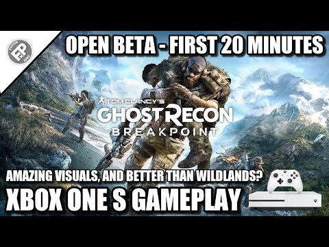 Ghost Recon: Breakpoint (Open Beta) - First 20 Minutes | Xbox One S