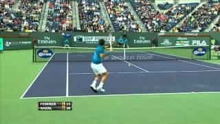 Roger Federer - Best Points @ Indian Wells '12 - (HQ)