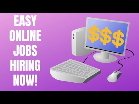 8 Easy Online Side Jobs Hiring Now for June 2019