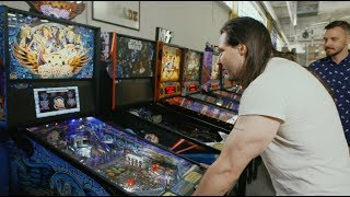 Andrew W.K. likes pinball as much as he loves to party