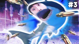 【鯊魚VS獵鯊狂徒?】用牙齒對抗子彈💥!《食人鯊Maneater》(中文版)#3
