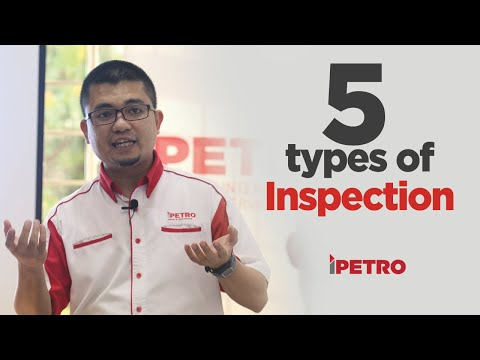 5 Types Of Inspection