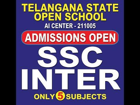 Telangana Open School Admissions