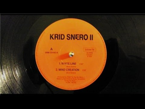 Krid Snero White Line (orginal) 1992