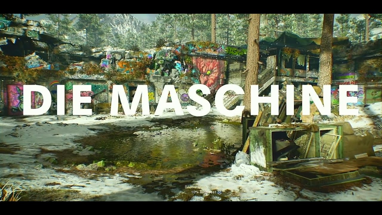 Die Maschine the Movie - a Call of Duty Black Ops Cold War Zombies film