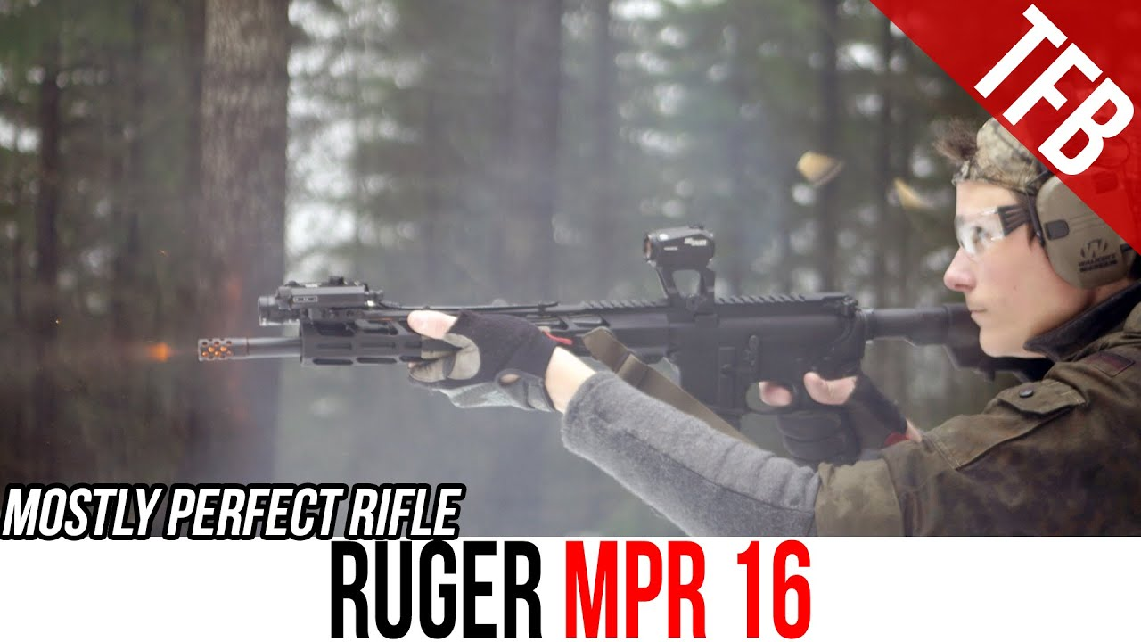 The Most Versatile AR on the Market: Ruger MPR 16