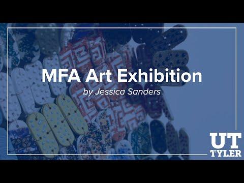 MFA Art Exhibition - Jessica Sanders