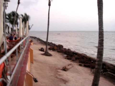 Le Meridien Re-Ndama Hotel - View Gabon Estuary - Libreville Gabon 6th March 2010
