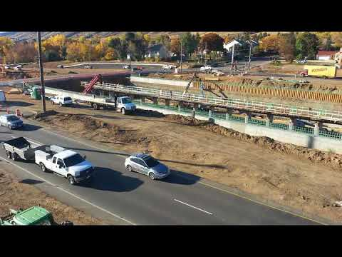 Auto Time-lapse of Grade Separated Intersection at US 6 and 19th street
