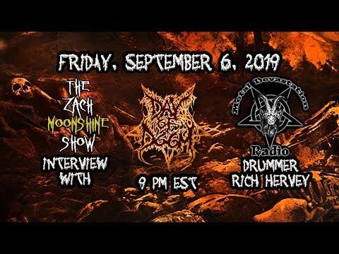 Rich calls into the Zach Moonshine Show 9/6/2019 on Metal Devastation Radio