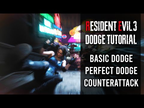 How To Dodge In Resident Evil 3 Remake | Perfect Dodge Tutorial & Tips | Counterattack