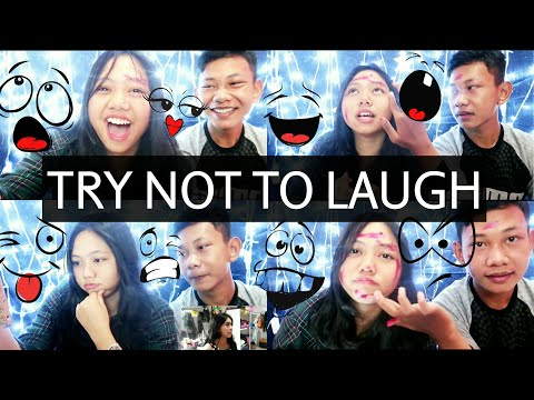 TRY NOT TO LAUGH CHALLANGE!! with Dzaki