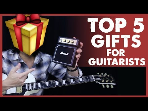 5 Best Gifts For Guitarists This Christmas! Guitar Gift Ideas 🎸🎁