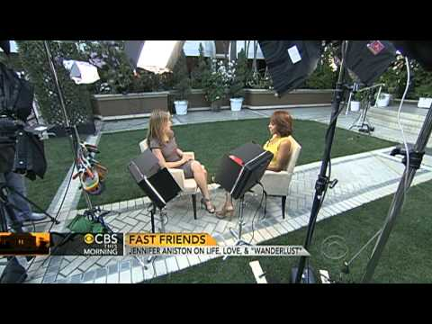 CBS This Morning - Jennifer Aniston on life, love and