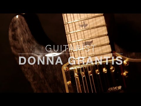 Donna Grantis  -  PRS Private Stock Custom Guitar