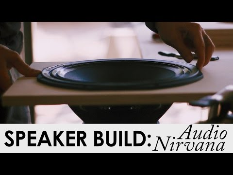 12 Inch Audio Nirvana Speaker Cabinets Build (Part 1) THE BUILD!