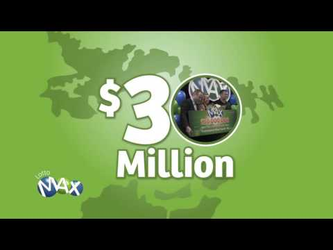 Atlantic Lotto $30M LOTTO MAX winners