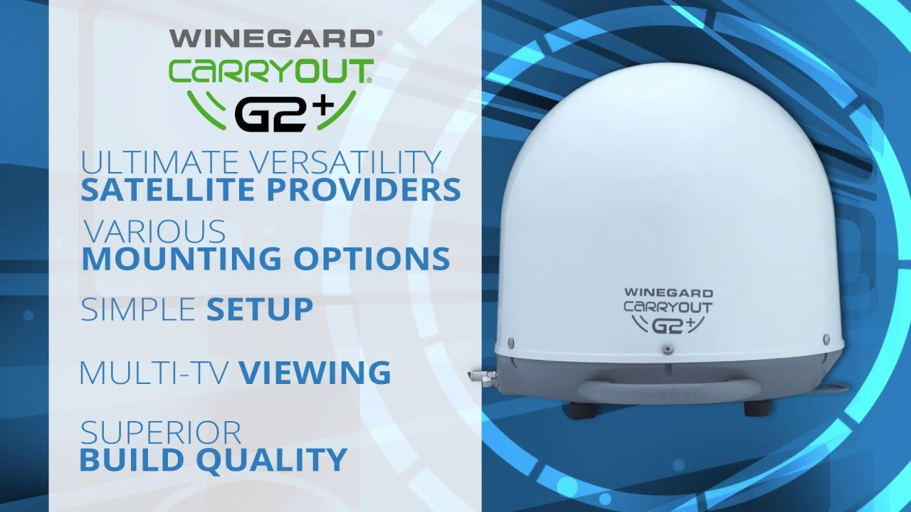 Winegard Carryout Wiring Diagram Electrical Rv Antenna G2 Automatic Satellite Youtube Dish Network