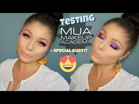 Testing Out Makeup Academy | Tutorial & Check-Ins + Special Guest