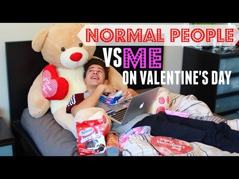 Normal People VS Me On Valentine's Day | Brent Rivera