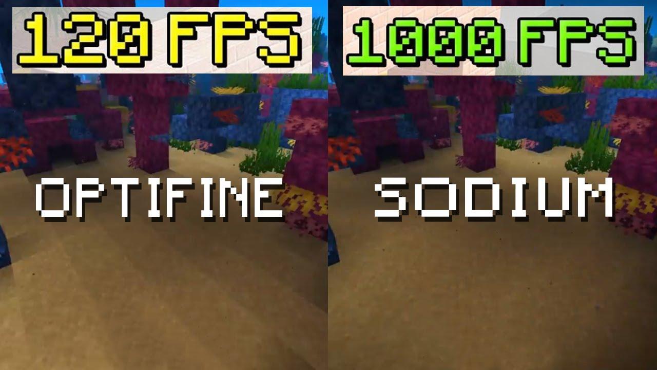 OPTİFİNE'A RAKİP ÇIKTI! (Sodium Mod Minecraft) - FPS UÇACAK!