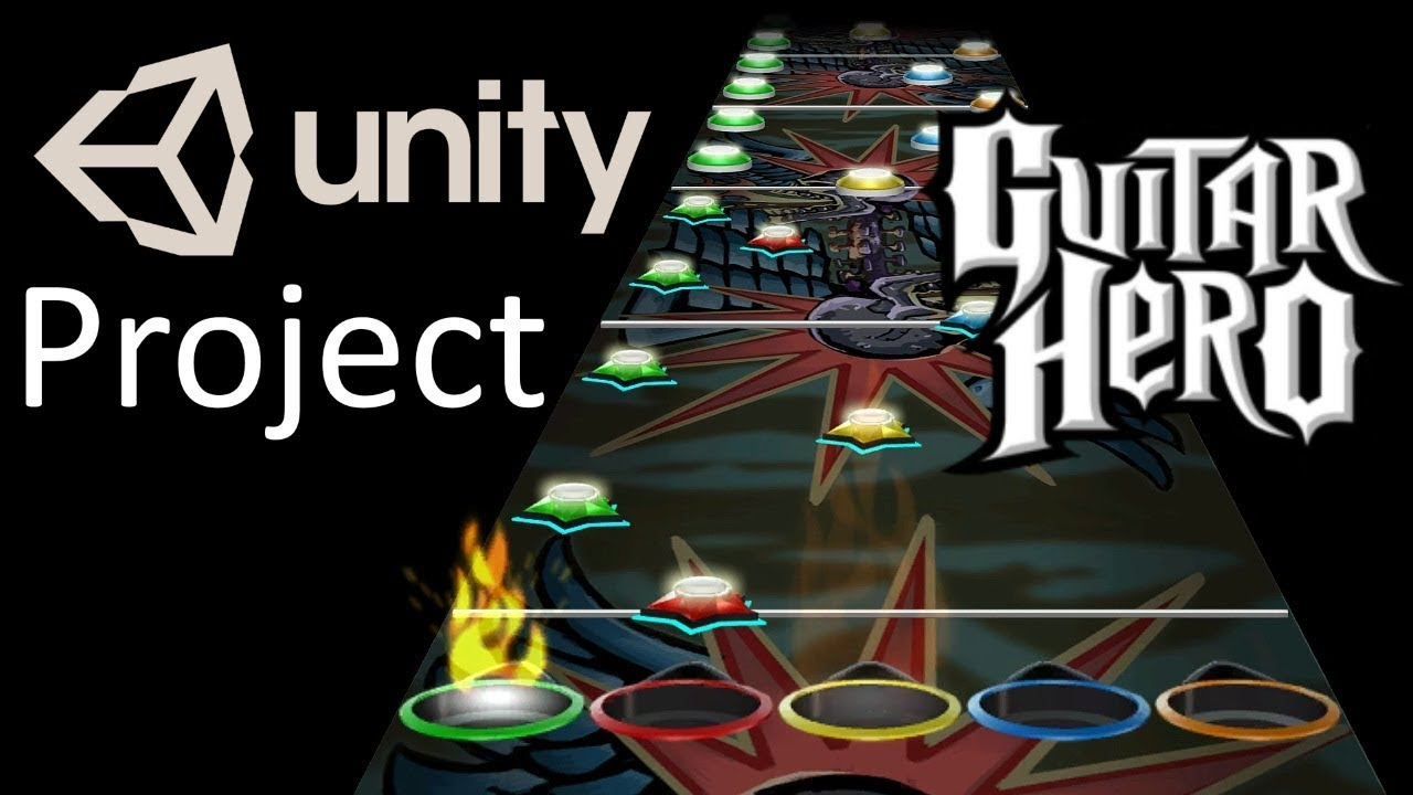 Guitar Hero Unity project - Open Source