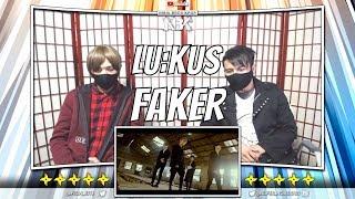 루커스 (LU:KUS) - FAKER Official MV   [ NINJA BROS Reaction / Review ]
