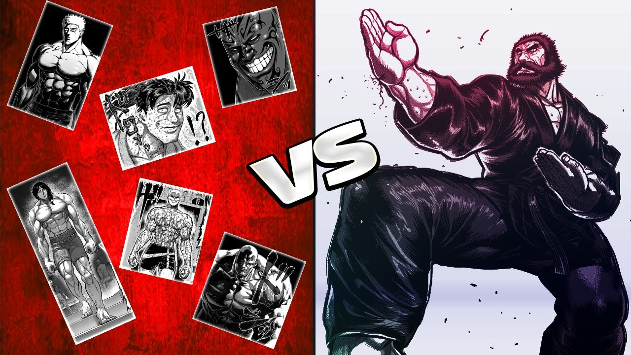 Download Kengan Ashura Kuroki Gensai vs Everyone