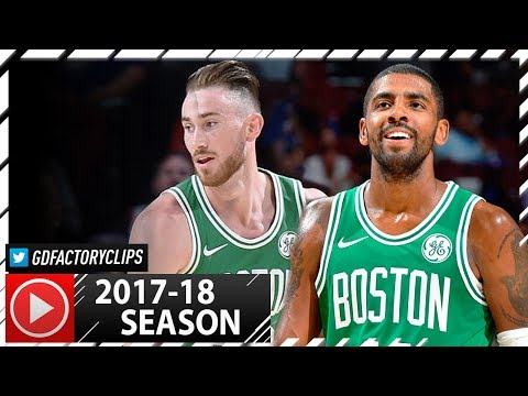 Kyrie Irving & Gordon Hayward Full PS Highlights vs Sixers 20171006  21 Pts for Irving!