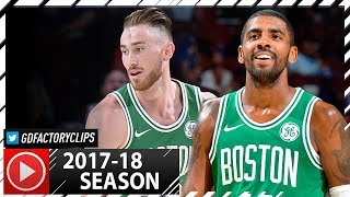 Kyrie Irving & Gordon Hayward Full PS Highlights vs Sixers (2017.10.06) - 21 Pts for Irving!