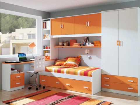 Dormitorios juveniles confortcama youtube for Habitacion puente juvenil