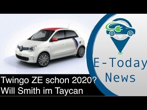 Renault Twingo ZE Kommt Dieses Jahr I 51% Wollen E-Auto Kaufen I Will Smith Im Porsche Taycan