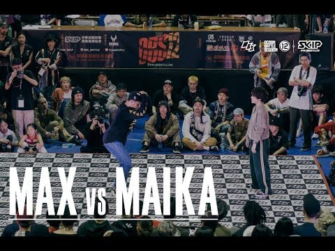 HipHop Best8 2 Max vs Maika�04 OBS vol.12 Day3