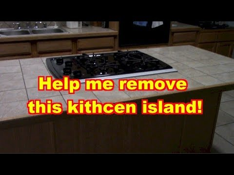 how to remove kitchen island help me with removing a kitchen island 7335