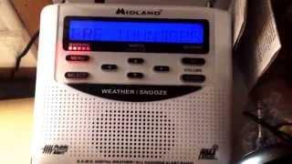Weatheradio Canada - Severe Thunderstorm Warning (EAS #116) 29/06/2014