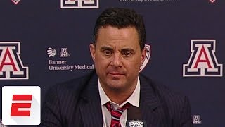 Sean miller on 'very, very emotional' standing ovation from arizona basketball fans | espn